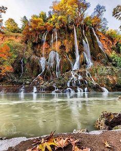 """Bishe Waterfall"", Dorrod - Lorestan procince - #Iran (in Persian: استان لرستان - آبشار بیشه ی دورود)"