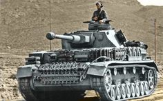 Panzer on the move.