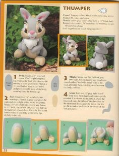 thumper cake decoration-he was my favorite in Bambi!