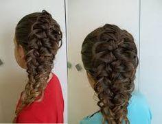 Znalezione obrazy dla zapytania fryzury warkocze