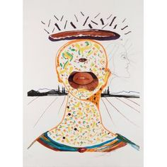 Cyclopean Make-Up, Salvador Dali, 1976, Dallas Museum of Art