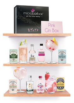 Four flavoursome bottles of gin and four cans of tonic make the most wonderful Pink gins, all from one gift box. Perfect for all those pink gin lovers in your life. Button Family Picture, Family Picture Frames, Gin And Tonic, Rhubarb And Ginger Gin, Ginger Ale, Cocktail Drinks, Cocktail Recipes, Cocktails, Organisation