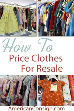 Do you buy or sell clothes at Kids Consignment Sales? In this tagging tip, I discuss exactly what 25-30% of retail means. Especially when it comes to determining a price for gently used de
