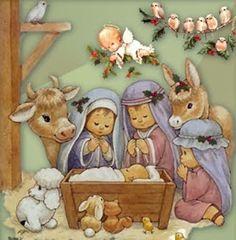 Christmas Nativity Set, Christmas Bible, Christmas Topper, Christmas Thoughts, Christmas Door Decorations, Old Christmas, Christmas Scenes, A Christmas Story, Christmas Pictures
