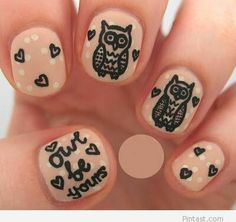 Print on nails – Funny
