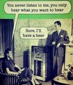 You never listen