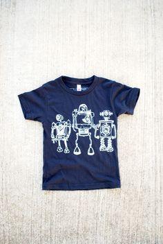 Robot Horizon Kid Tee – Paulville Goods