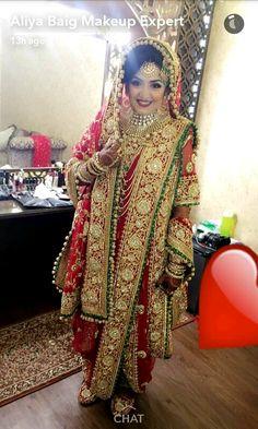 Khada Dupatta | Hyderbadi Bride