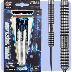 Phil Taylor Darts - The Power - Target Steel Tip Tungsten - Power 8Zero - 22g - http://www.dartscorner.co.uk/product_info.php?products_id=16775