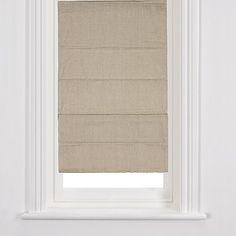 Linen Roman Blind, John Lewis