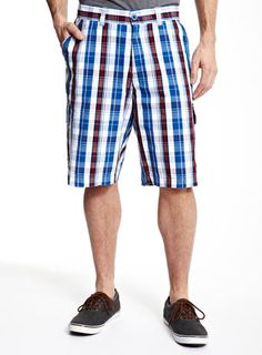 Staying out doors? Blue, white and red, cargo shorts are ideal this summer. Grab yours now from Bhs, for only Baby Prince, Great British, Patterned Shorts, New Baby Products, Women Wear, Doors, Summer, Fashion, Moda