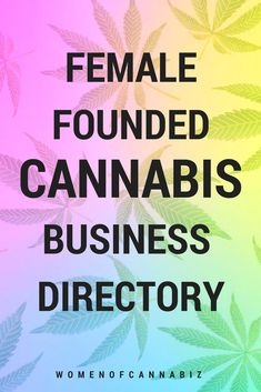Female founded cannabis business directory