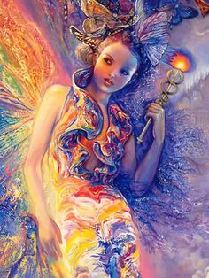 IRIS KEEPER OF THE RAINBOW. Throughout the ages, the rainbow has been the symbol of hope, a promise of better things to come. The ancient Greeks personified the rainbow as the goddess Iris, the favourite handmaiden & messenger of Hera, queen of the heavenly court of Olympus. Carried by her shimmering wings, Iris travels swiftly so mortals can only see her trail of her rainbow passage across the sky.