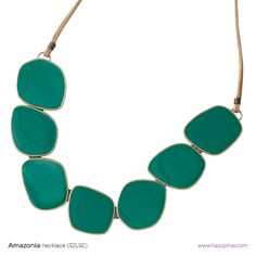 Amazonia necklace new item beautiful in person!!! Color is great