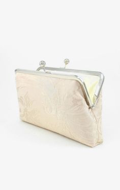 Bridesmaid Gift / Bridesmaid Purse / Champagne