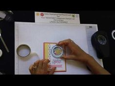 """Learn how to make this fun """"shaker card"""".  Be sure to visit and subscribe to my YouTube channel for even more great tutorials.  www.StampingYearRound.com"""