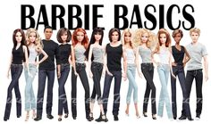 barbie basic by richypop Barbie Paper Dolls, Play Barbie, Barbie And Ken, Barbie Room, Barbie Barbie, Barbie Style, Barbie Basics, Barbie World, Barbie Life