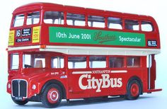 EFE Zone - Model 15629A - Southampton Citybus (Southampton City Transport) AEC Routemaster (RM) Double Deck Bus