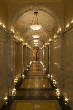Hotel W Corridor