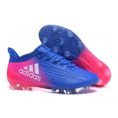 separation shoes 33850 16d8e Бутсы футбольные adidas X 16.1 FG синий Розовый белый