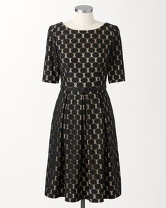 Coldwater Creek Lace dots dress on shopstyle.com