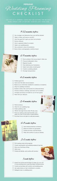 Wedding Planning Checklist  Boda    Wedding Planning