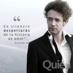 GUSTAVO CERATI - Buscar con Google Soda Stereo, All About Music, Perfect Love, Save My Life, Music Lyrics, Sentences, Inspirational Quotes, Songs, Funny