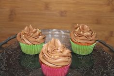 DULCE TENTACION: Cupcakes de nutella (o mejor Nocilla???)
