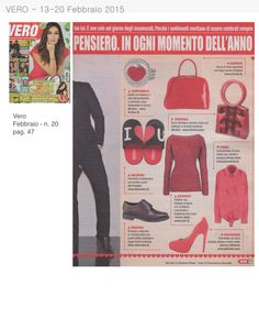 Il magazine Vero suggerisce la #biribag tra i consigli di stile per San Valentino!
