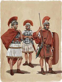 Praetorian Guards in ceremonial dress - Dionisio A. Cueto