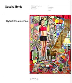Updated somehow:. #www.sascha-boldt.de #saschaboldt #contemporaryart #website #www #internet