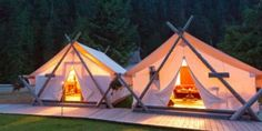 Prospector Style Tents