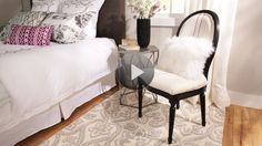 Watch How to Paint Upholstery in the Better Homes and Gardens Video.  This is a great video and great idea.  Wish I had known this years ago.