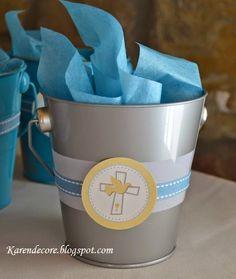 Idéias para lembrancinhas de batizado