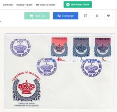 Sold out Centenary of Macau Stamps at kollectbox.com  Sign up at http://app.kollectbox.com/users/register #marketplace   #soldout   #buy   #sell   #exchange   #ecommerce   #startup   #tech   #hobby   #collectors   #collectibles   #philately   #stamps   #stamp   #postagestamp   #postagestamps