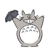 Totoro #totoro #myneighbortotoro #seijimatsumoto #seiji.matsu #松本誠次 #art #drawing #illustration #illustrator #イラスト