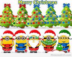 Minions christmas 2015 196 Minion Gif, Minions 1, Minion Movie, Minion Christmas, Christmas 2015, Christmas Humor, Merry Christmas, Minions Images, Minion Pictures