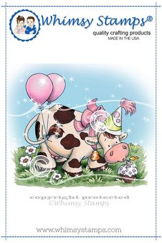 *NEW Birthday Cow