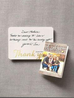 capture a big moment in a small way with personalized thank you cards shutterfly - Personalized Thank You Cards