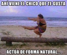 Actúa de forma natural. #humor #risa #graciosas #chistosas #divertidas