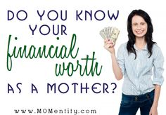 coupons daily: do you know your financial worth as a mother?