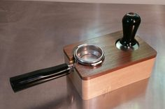 RöstHaus Tamping Station  Walnut and Maple by RostHausCoffee | Etsy