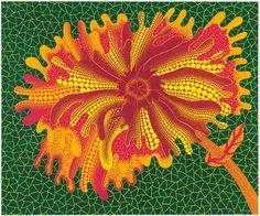 Yayoi Kusama - Flower A, 2005