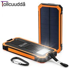 【 $17.62 & Free Shipping / Coupons 】Tollcuudda Solar Poverbank Mobile Phone Power Bank Portable External Sun Charger Cellphone Battery Powerbank 10000mah Universal | Buying & Reviews on AliExpress