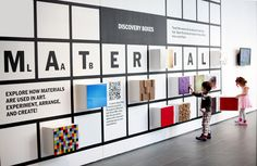 Material Lab at MoMA. Photo by Michael Nagle.    Not just for children - think those with low vision, tactile learners, or for untraditional art materials