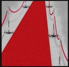 The Hollywood Red Carpet Runner is sure to make your guests feel like stars! The carpet runner is 15 ft. long, and includes double sided sticky tape.