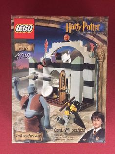 LEGO Harry Potter Philosphers Stone 4712 Troll on the Loose MISB - Brand New!!