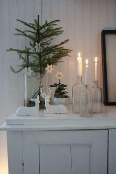 Decorando para navidad con botellas, botes y vasos | Blog T&D