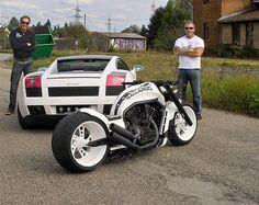 "No-Limit-Custom ""Gallardo"" V-Rod The bike only. Futuristic Motorcycle, Motorcycle Style, Custom Street Bikes, Custom Bikes, Vrod Custom, E90 Bmw, V Rod, Spin Bikes, Chopper Bike"