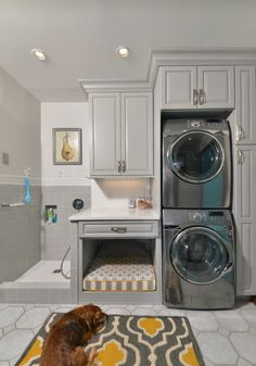 50 best pet dog wash station images on pinterest bathrooms soft sided dog crate laundry room traditional with dog bed dog grooming dog shower dog wash dogs kids utility room solutioingenieria Image collections